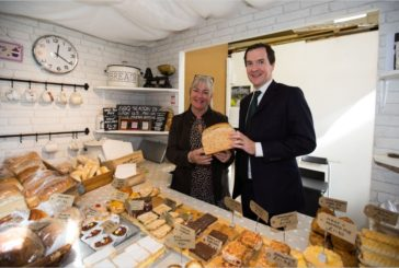 Visit from MP to celebrate British Food Fortnight